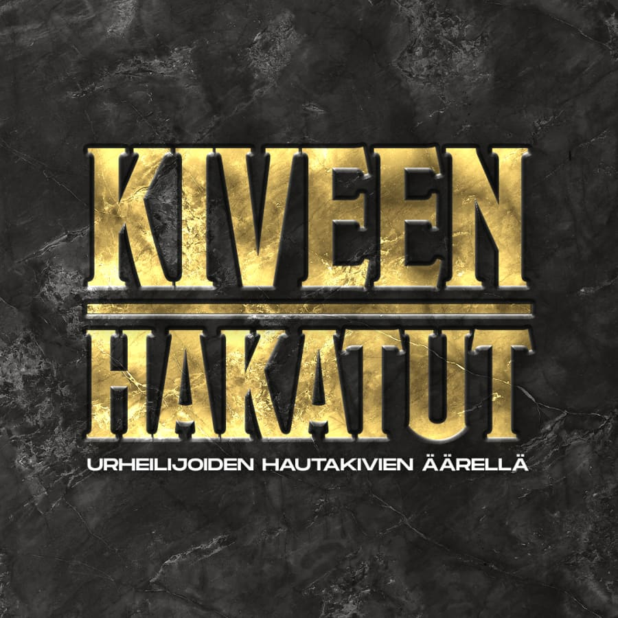 Kiveen hakatut - kultamitalipainija Rauno Mäkinen