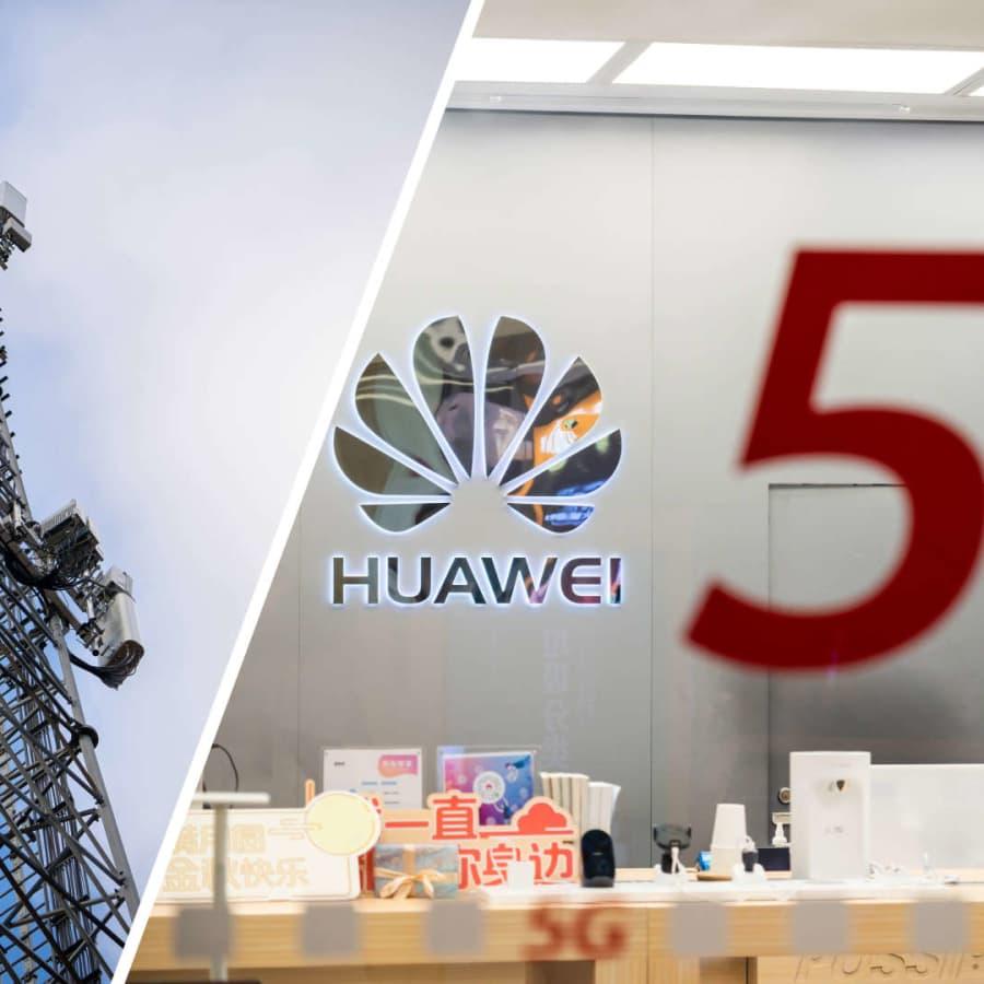 Huawei får inte delta i svensk 5G-utbyggnad