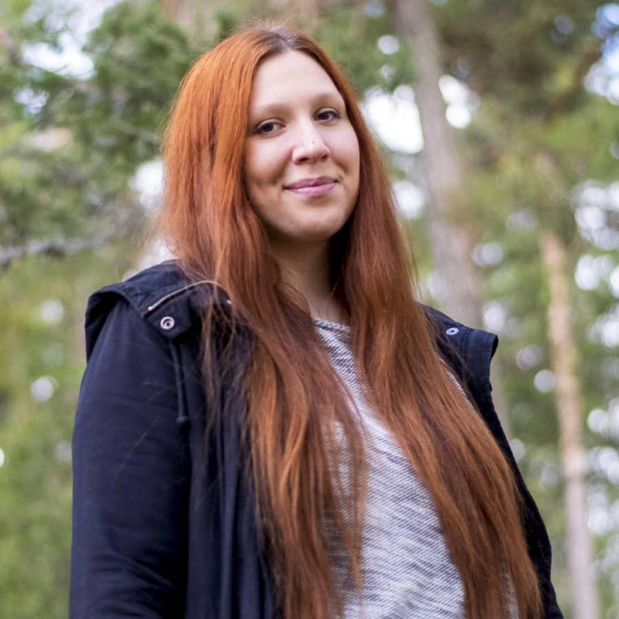 Sofia Musick valde bort studielivet för att kunna bo kvar i Raseborg