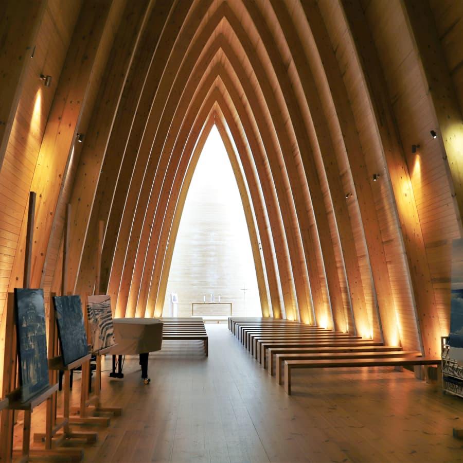 S:t Henriks ekumeniska kapell på Hirvensalo lockar konst- och arkitekturintresserade