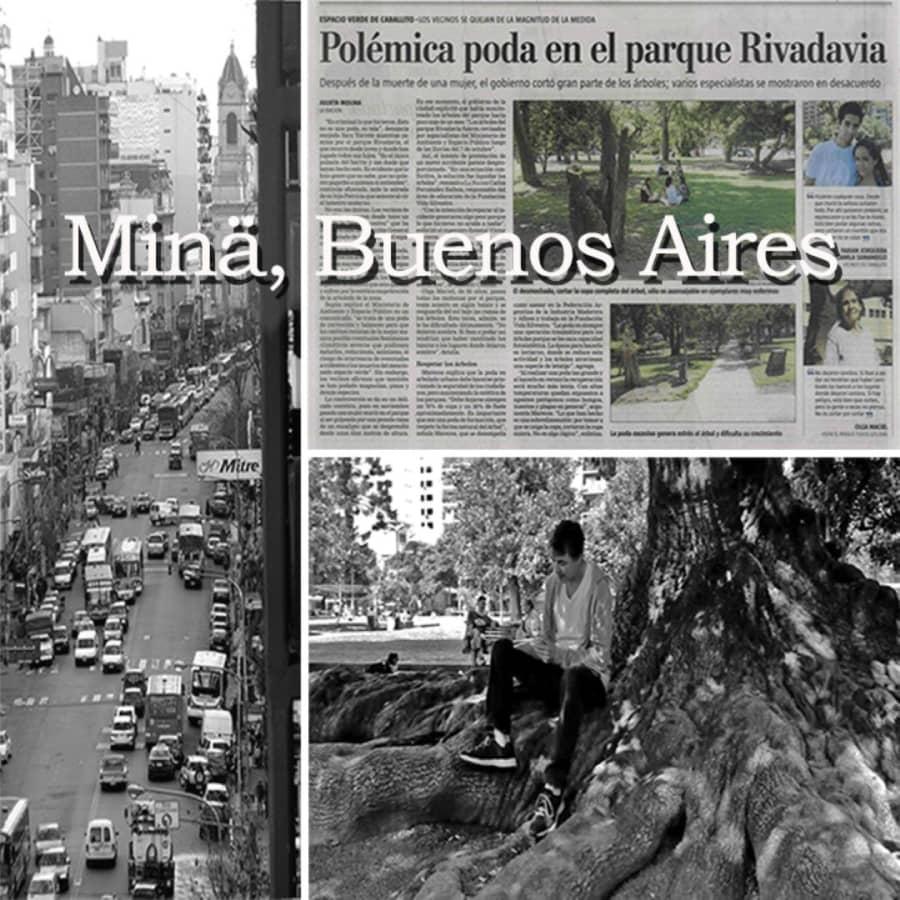 Minä, Buenos Aires.