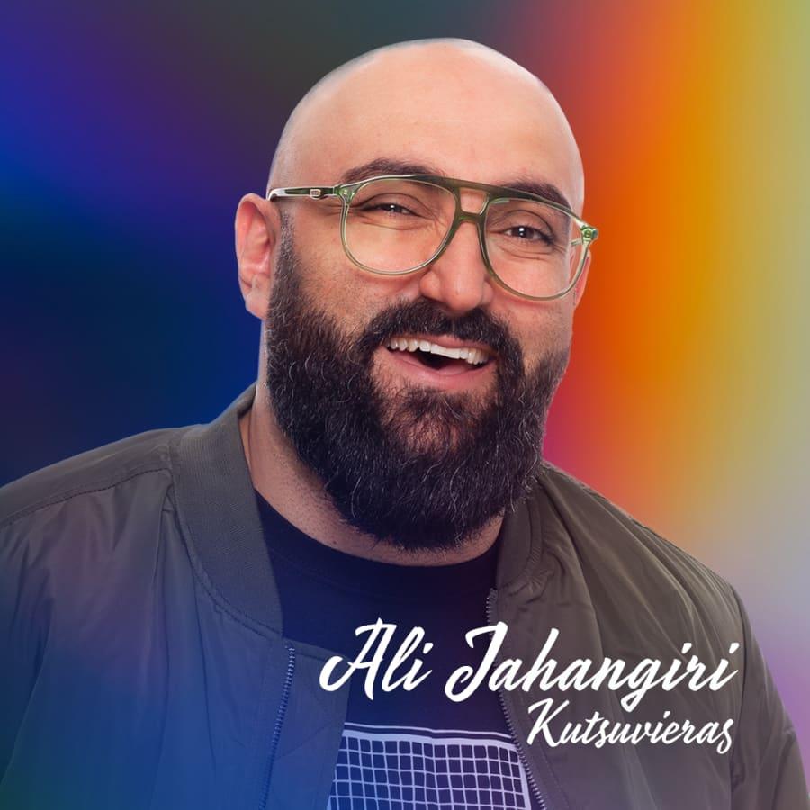 Ali Jahangiri – Rakastan Suomea ja suomea