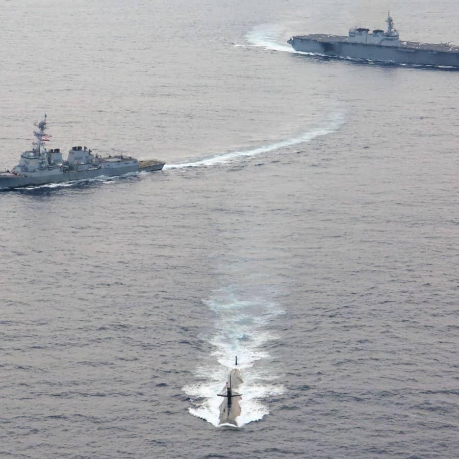 USA, Storbritannien och Australien bildar försvarspakt