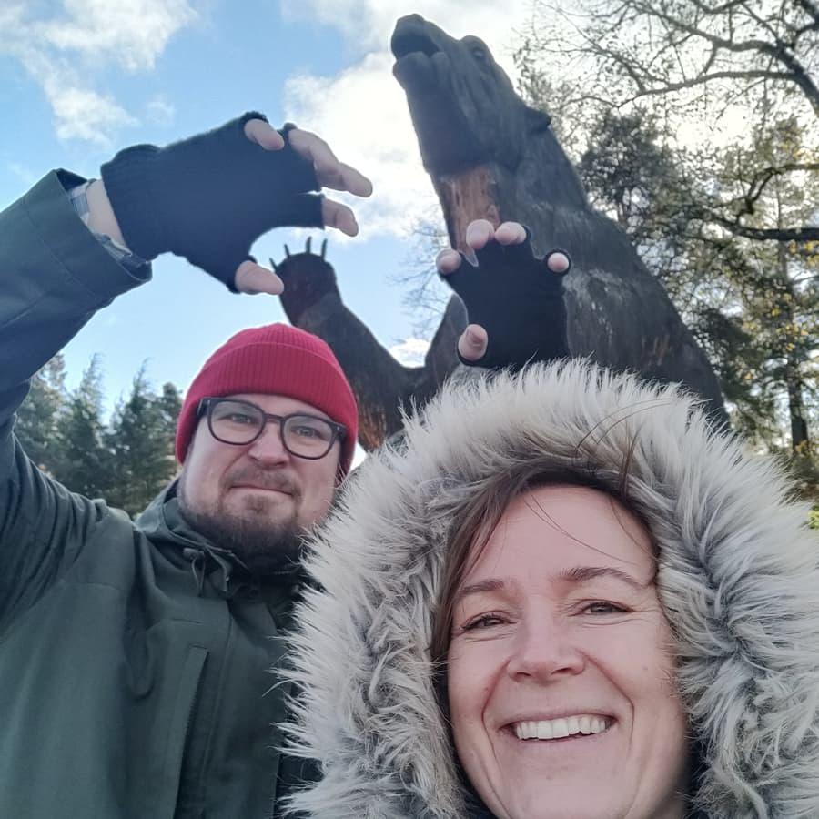 Draamaa Korkeasaaren retkellä – Sanna ja Matti veivät loukkaantuneen oravan hoitoon villieläinsairaalaan