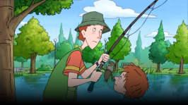 Henry ger sig ut för att fiska