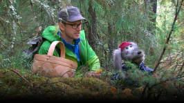 Riku och Rami i naturen