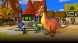 Riddaren Micke och den riktiga draken