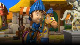 Riddaren Micke och den prickiga hästen