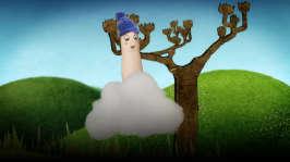 Lillfinger träffar på ett litet moln