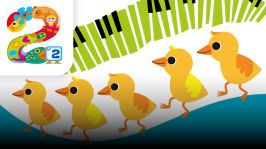 Viisi pientä ankkaa (trad., sov. Soili Perkiö, Maija Karhinen-Ilo, Kristiina Ilmonen, Arto Anttila). Esittäjinä Susanna Haavisto, Eija Ahvo, Karoliina Vanne ja P2-yhtye: Soili Perkiö, Maija Karhinen-Ilo, Kristiina Ilmonen ja Arto Anttila. Taltioitu Helsingin Kulttuuritalolla 6.11.2013.