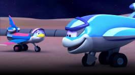I dunklet på månen