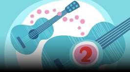 Kitara. Orffit tutustuttavat soittimiin ja soitinten ääneen. Omituisista satunnaisista kohtaamisista syntyy kiinnostus soittamiseen. Kirjoittanut Hannu Sepponen.