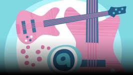 Basso. Orffit tutustuttavat soittimiin ja soitinten ääneen. Omituisista satunnaisista kohtaamisista syntyy kiinnostus soittamiseen. Kirjoittanut Hannu Sepponen.
