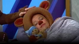 Nalle sover