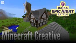 Hajbo Epic Night Battle 2016: HENB 4 - Monopol och minecraft creative presentation
