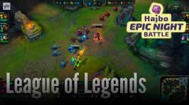 Hajbo Epic Night Battle 2016: HENB 6 - Nattsudd och League of Legends