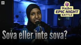 Hajbo Epic Night Battle 2016: HENB 7 - Sova eller inte sova?