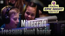 Hajbo Epic Night Battle 2016: HENB 8 - Minecraft treasure hunt