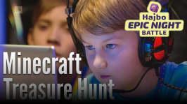 Hajbo Epic Night Battle 2016: HENB 13 - spännande final i Minecraft Treasure Hunt