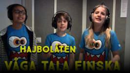 Hajbolåten 2017: Hajbolåten: Våga tala finska