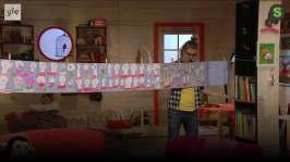 BUU-Lisa: Lisa visar BUU-klubbisarnas teckningar