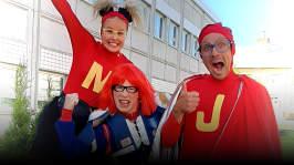Super-Jontti och Bråk-Britta