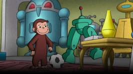 Robotapa / Nicke Nyfiken som djurvakt