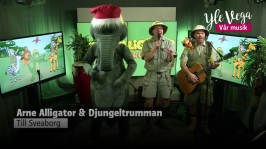 Arne Alligator och Djungeltrumman - Djungelfebershow: Arne Alligator - Djungelfebershow