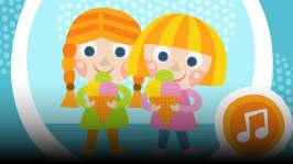 100 lastenlaulua: Orffit: Hanna ja Kerttu