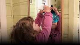 Putsa spegeln