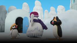 Pingu hjälper en ny vän