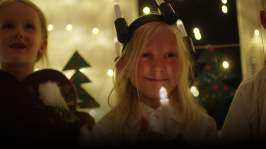 Vilda går på julfest
