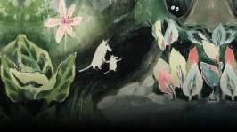 Andra delen. Det är i slutet av augusti och Muminpappan är försvunnen under sitt sökande efter ett hus där Muminfamiljen ska bo under vintern. Muminmamman och Mumintrollet beger sig ut för att leta efter pappan samtidigt som en stor och dramatisk översvämning sker.