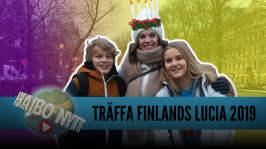 Finlands lucia 70 år, världens yngsta statsminister och finlandssvenskar bra på matte