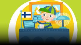 Pikku-Tote päättää lentää omalla talollaan presidentin luo kysymään, miten tulla presidentiksi. Lukijana Vesa Vierikko. Kirjoittaja Jose Ruonansuu, äänisuunnittelija Teuvo Lehtinen.
