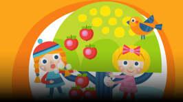 Omenapuu notkuu herkullisista omenoista. Viivi röyhtäisee niin lujaa, että niin omenat kuin linnunmunakin viereisestä puusta tipahtaa maahan. Sari käyttää supervoimaansa ja auttaa munan takaisin pesään.