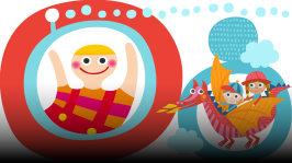 Jaakko ja Lilja mielikuvittelevat ja ohessa kuunnellaan lauluja muun muassa ystävyydestä ja peikoista. Jakson laulut: Niina Alitalo: Lounatuulen laulu Pomppulinnan kreivi: Lohikäärme Puff Pikku Papun Orkesteri: Ole mulle kaveri Sagolik: Myyry ja Miiru