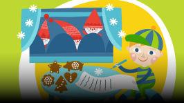 Pikku-Tote valmistautuu jouluun ja kirjoittaa joulupukille kirjeen. Lukijana Vesa Vierikko. Kirjoittaja Jose Ruonansuu, äänisuunnittelija Teuvo Lehtinen.