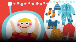 Susanna ja  erikoisvieraat pohtivat mihin kaikkeen vaatteita tarvitaan, ja minkälaisia vaatteita sitä onkaan olemassa. Välissä kuunnellaan satu mahtavista kurahaalareista sekä rokataan oikein kunnolla.  Jakson laulut: Satu Sopanen & Tuttiorkesteri: Värilaulu Pomppulinnan kreivi: Villahousurock Tuomo, Riku ja Rami: Kadonnut pipo
