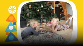 """Tessa ja Moona: """"Miten joulupukki ehtii kaikkialle?"""""""