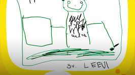 Jokaisella jääkiekkojoukkueen pelaajalla on oma pelinumero. Leevi kertoo, että hänen numeronsa on 11. Kuulet tarinan jännittävästä jääkiekko-ottelusta Mansikkalan Maila vastaan Mustikkalan Kiekko. Ohjelma on ladattavissa omalle laitteelle.