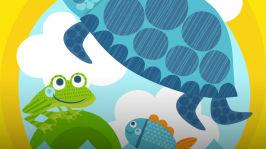 Kaius-kilpikonna ja ärsyttävä muovipussi