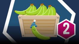 Mari on ostanut banaanin ja käynyt pohtimaan, miten se on Suomeen päätynyt. Miten voi selvittää, mistä maasta banaani on peräisin?