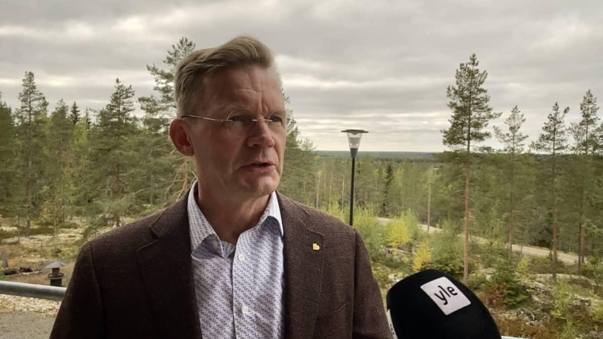 Vaasan yliopiston rehtori Jari Kuusisto.