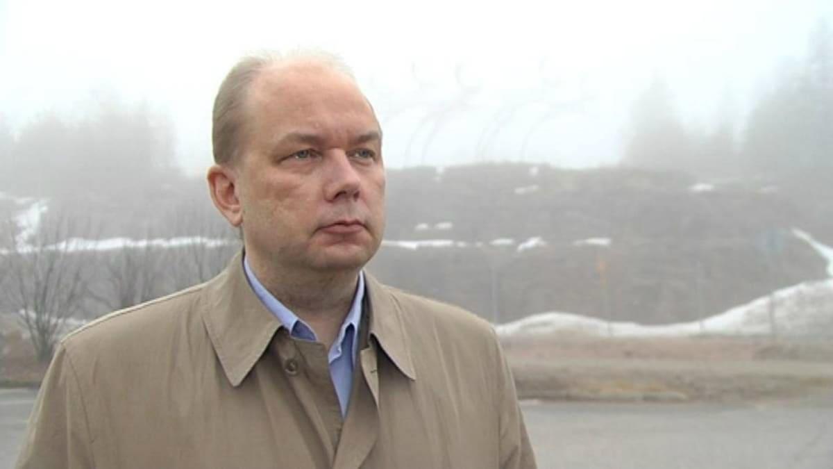 Petri Koikkalainen, ordförande för Forskarförbundet