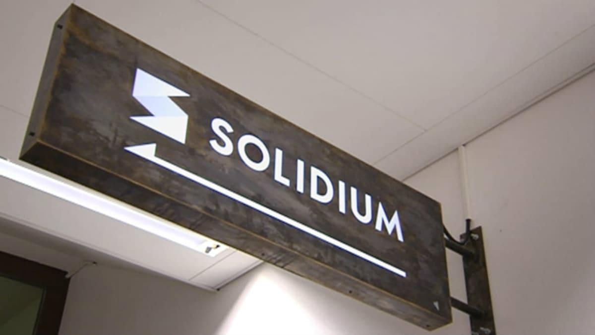 Solidiums logotyp.