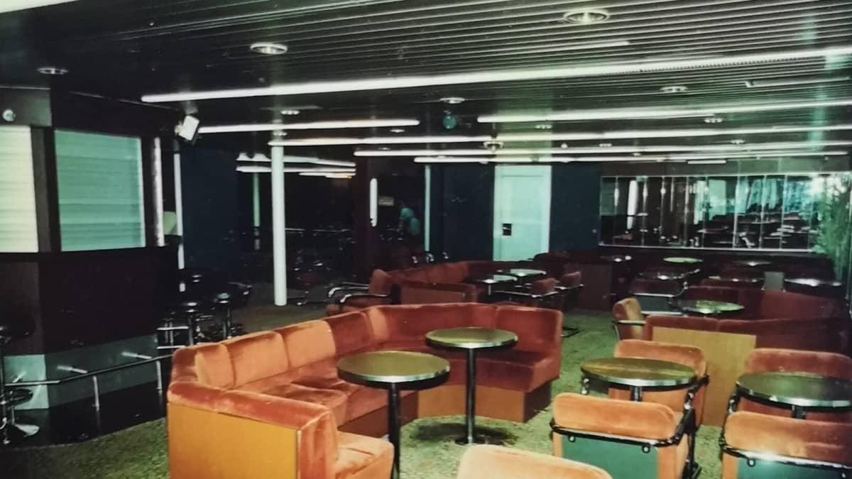 Viking Sallyn yökerho kuvattuna vuonna 1986.