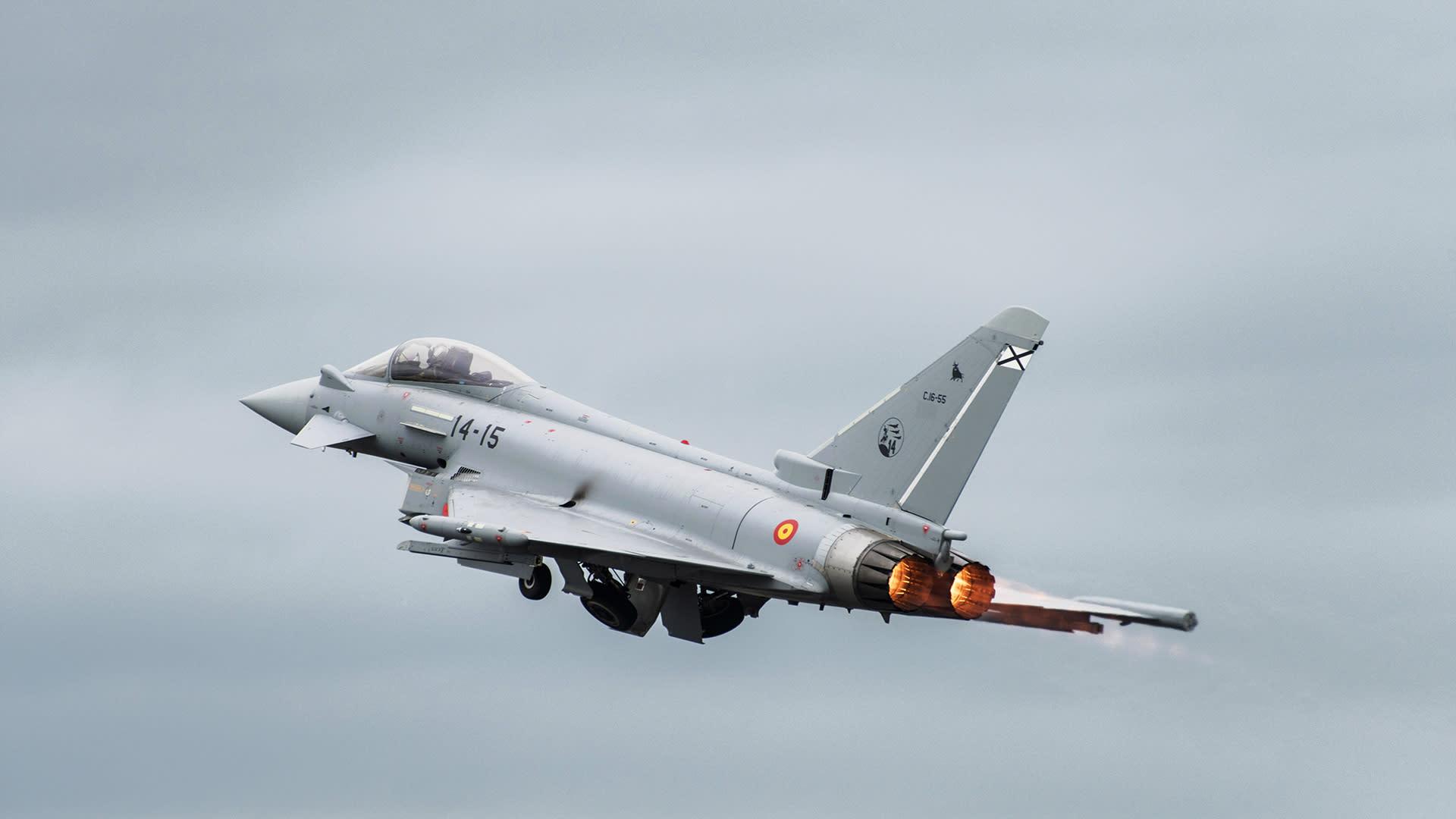 Eurofighter plan.