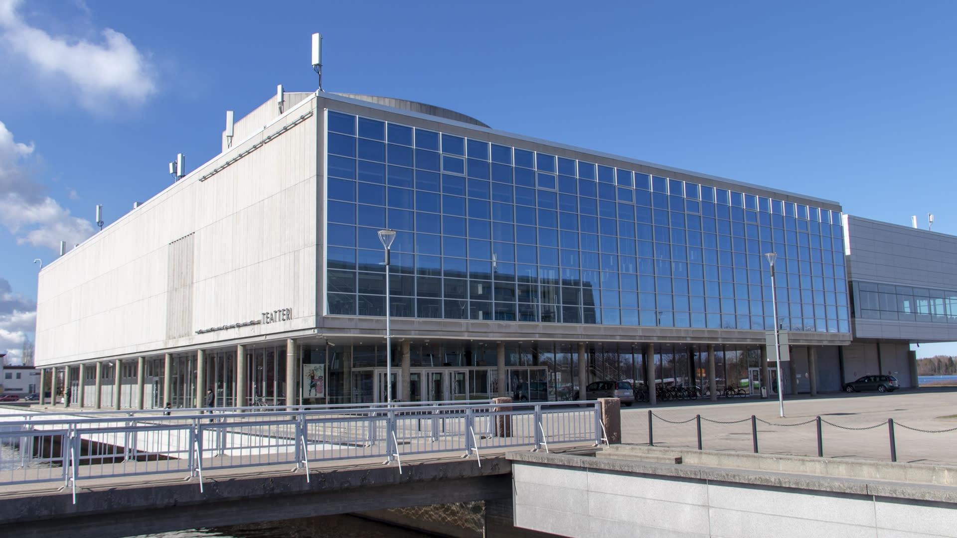 Oulun kaupungin teatteri, ulkokuva