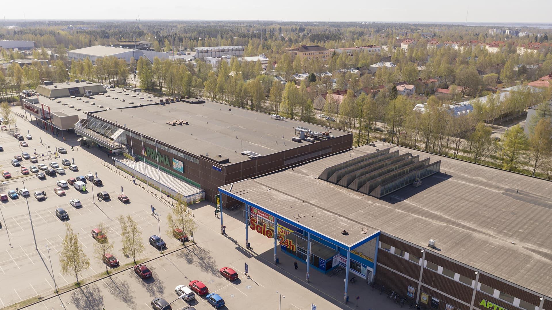 Raksilan marketit Oulussa